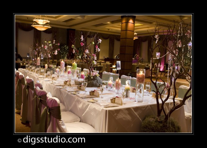 Enchanted Wedding Reception