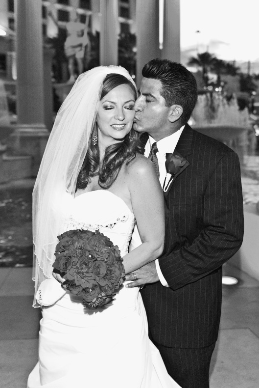 Las Vegas Wedding Planner coordinates for Michele & Walter